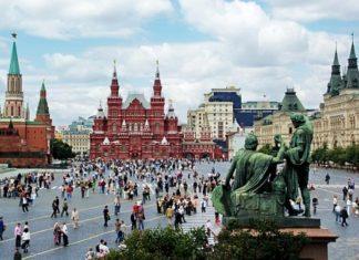 Самарик на Красной площади