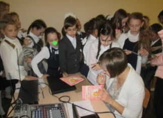 Встреча с ульяновскими школьниками