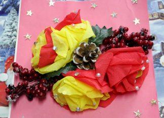 Новогодний букет от Руслана Умарова, Самара