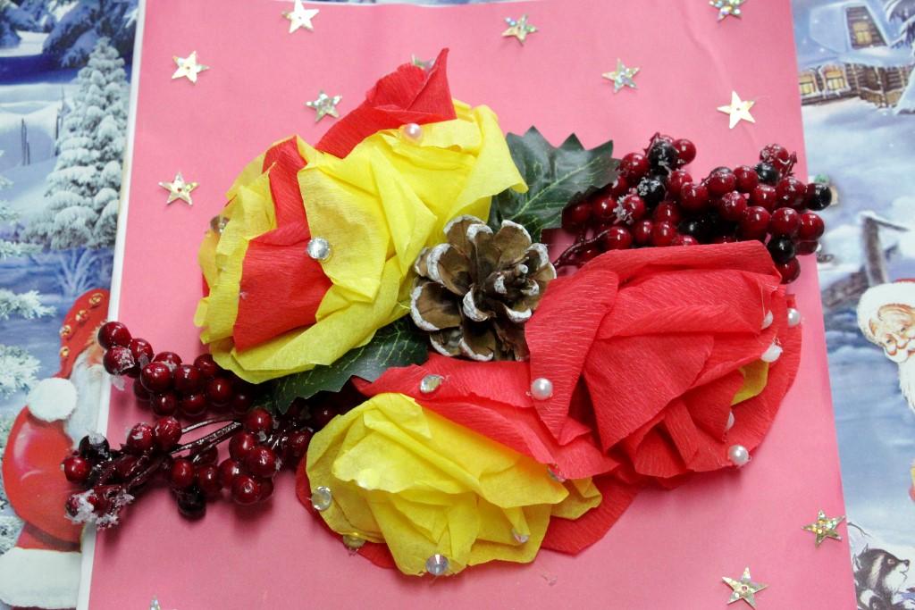 Цветов ромашек лучший новогодний букет